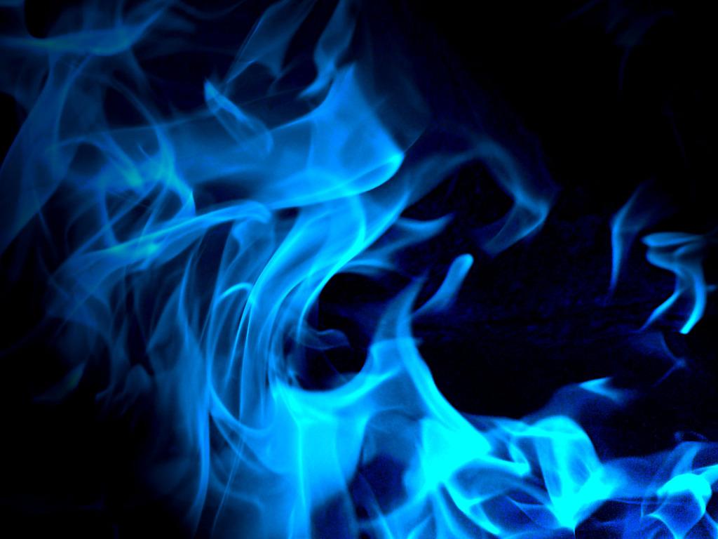 Cool Blue Fire