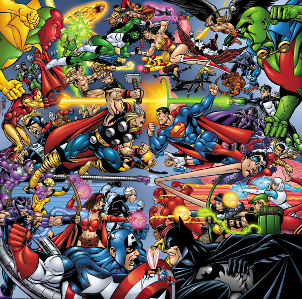 Marvel y dc guía para diferenciarlos i