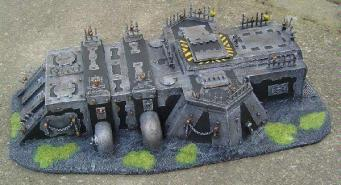 65273_md-Bastion, Bunker, Chaos, Chaos Space Marines, Dawn Of War, Fort, Iron Warriors