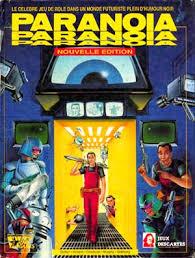 Paranoia el Juego de rol